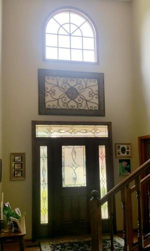 round top, door,thermatru,fiberglass, woodstained, energy efficient, replacement door, Carmel, Fishers, Indianapolis, Indiana