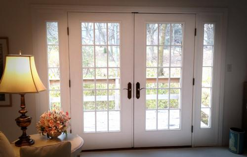 French-door, thermatru, sidelights, Carmel, Fishers, Indianapolis, Indiana, door installation