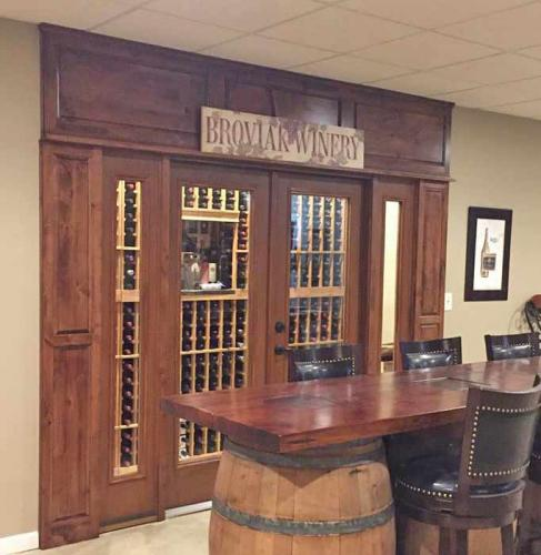 Therma-tru winery door, door installation, energy efficient, door replacement.  Family owned business serving Carmel, Fishers, Indianapolis, and surrounding counties since 1994.
