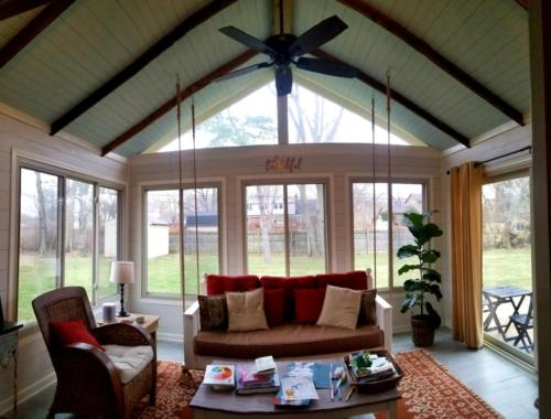 red patio, alside, vinyl windows, replacement windows, Indianapolis, Indiana, fishers, westfield, carmel, entry doors, front doors, window installation