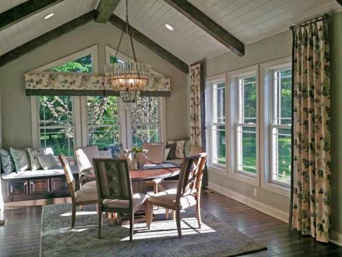 Alside sun room with energy efficient windows, window replacement, window installation.  Family owned business serving Carmel, Fishers, Indianapolis, and surrounding counties in Indiana since 1994.